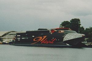 Tasmanian devil - The Devil Cat catamaran