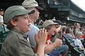 1st Cavalry Division 'Tweens' Cheer on the Home Team on the B DVIDS55447.jpg