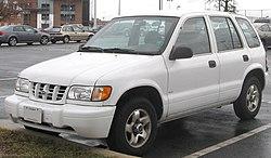 1998-2001 Kia Sportage 4-door (US)
