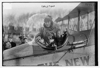 Victor Carlstrom - 1st Lieutenant Victor Carlström (April 13, 1890 - May 9, 1917) in 1916