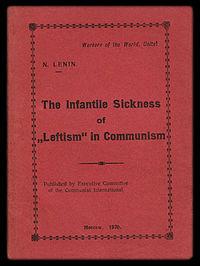 """Left-Wing"" Communism: An Infantile Disorder cover"