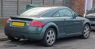 Audi TT - Audi TT Quattro pre-facelift