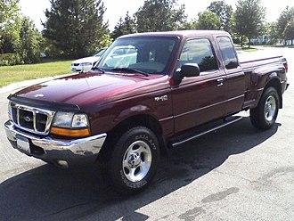 Ford Ranger - Image: 2000 Ford Ranger
