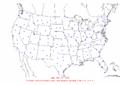 2002-11-11 24-hr Precipitation Map NOAA.png
