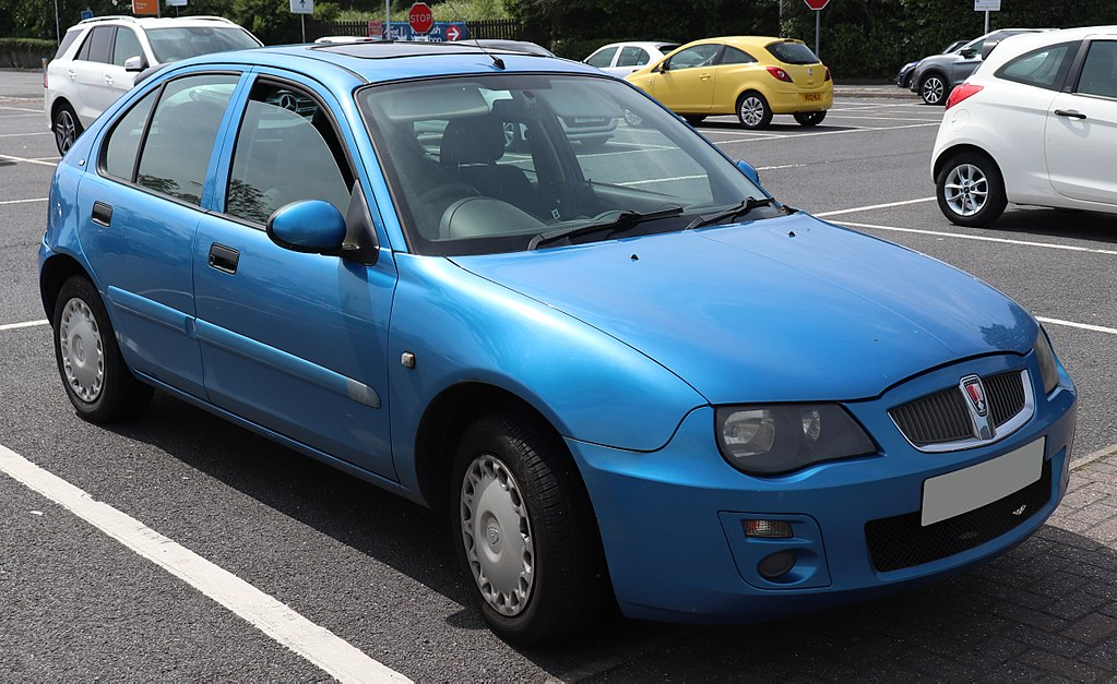 File2004 Rover 25 Si 84 14 Frontg Wikimedia Commons