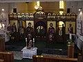 2004 iconostasis in church of Basilian Monastery in Kula.jpg