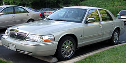 Una Mercury Grand Marquis del 2005