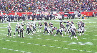 2007 NFL season - New England takes on San Diego in the AFC Championship Game