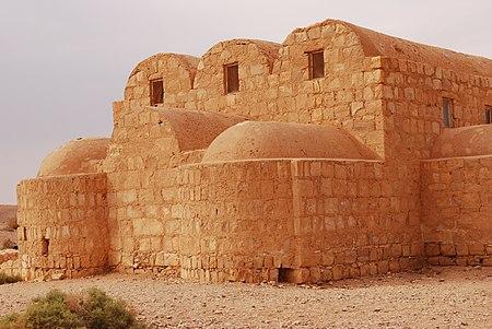 قصر عمرة الصحراوي، شرق الأردن.مخصص لخلفاء وأمراء بني أمية