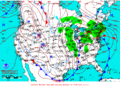 2012-01-12 Surface Weather Map NOAA.png