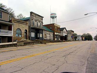 Beecher, Illinois - Gould Street, Beecher