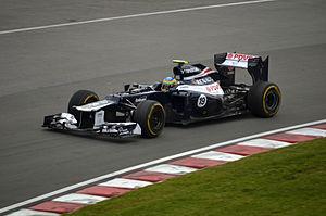 2012 Canadian Grand Prix Bruno Senna Williams FW34-02.jpg