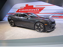 Chevrolet Camaro Fifth Generation Wikipedia