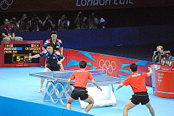 2012 Summer Olympics Men's Team Table Tennis Final 1.jpg