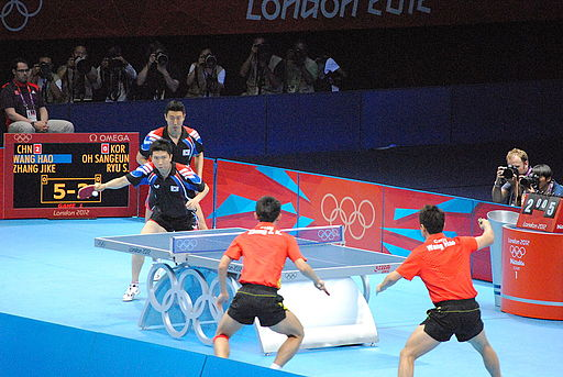 2012 Summer Olympics Men's Team Table Tennis Final 1