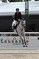 2013 Longines Global Champions - Lausanne - 14-09-2013 - Emilie Payot et Robert Le Dyable 3.jpg