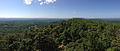 2014-08-25 11 34 00 Panorama south and west from the Catfish Fire Tower along the Appalachian Trail in the Delaware Water Gap National Recreation Area, New Jersey.JPG
