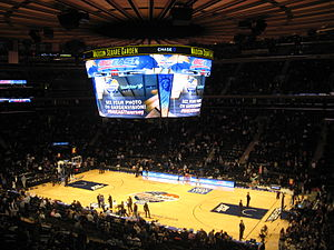Madison Square Garden - MSG during the 2014 Big East Tournament.
