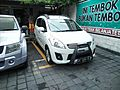 2015 Suzuki Ertiga GX (front), Kuta.jpg