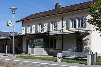 Courtételle - Train station.
