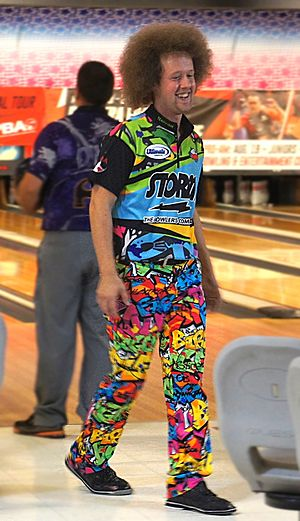 Kyle Troup - Troup at a PBA tournament in 2016