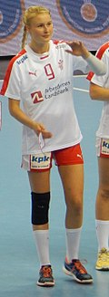 2016 Women's Junior World Handball Championship - Group A - MNE vs DEN - Celine Lundbye Kristiansen.jpg