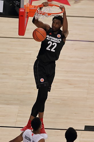 Mitchell Robinson - Robinson at the 2017 McDonald's All-American Game
