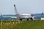 20170604 LN-NGQ Boeing737-800 Norwegian Balice Kraków 7905.jpg