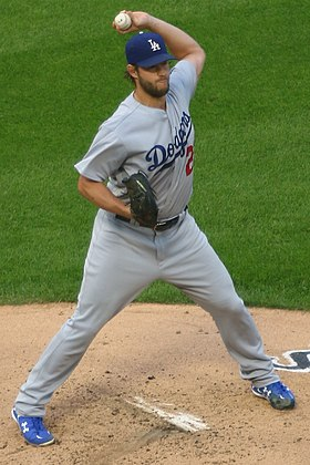 20170718 Dodgers-WhiteSox Clayton Kershaw pickoff throw.jpg