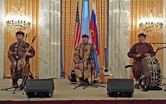 "Embassy of Russia in Washington, D.C. - 2018.04.25, Tyvan throat-singing music ensemble ""Alash"" at Embassy of Russia in Washington D.C."