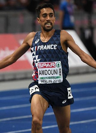 Morhad Amdouni French middle and long-distance runner