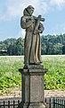 2018 Jaszkówka, figura św. Franciszka 4.jpg