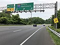 2019-06-05 12 08 43 View north along Interstate 95 at the exit for Carpool Parking in Beltsville, Prince George's County, Maryland.jpg