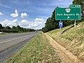 2019-06-06 16 07 14 View north along Interstate 81 at Exit 245 (Virginia State Route 253, Port Republic Road) in Harrisonburg, Virginia.jpg