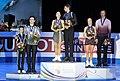 2020 European Figure Skating Championships Pair skating medal ceremonies 2020 01 25 6571 (2).jpg