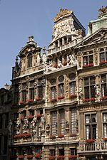 Gildehuis op de Grote Markt in Brussel