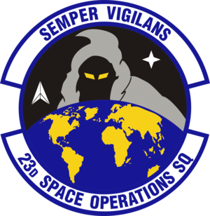23rd Space Operations Squadron - Emblem of 23rd SOPS