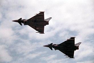 Taktisches Luftwaffengeschwader 74 - Image: 2 Eurofighter Manching 2006