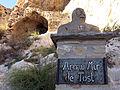 312 Arnau Mir de Tost (Foradada), sota la roca Foradada.JPG