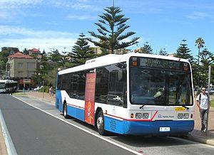 Ansair - Sydney Buses Scania L113CRL at Coogee Beach in September 2011