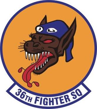 36th Fighter Squadron - Image: 36th Fighter Squadron