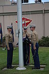 3rd MAW Morning Colors Ceremony honors MAG-A 141209-M-DF987-012.jpg