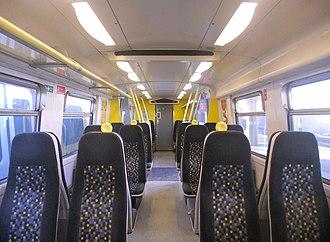 British Rail Class 507 - Image: 508139 Interior