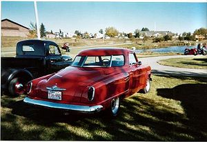Virgil Exner - Studebaker Champion Starlight coupé (1951 version)