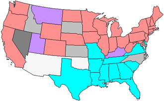 56th United States Congress - Senate composition, by party