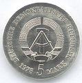 5 Mark DDR 1978 - 175. Todestag von Friedrich Gottlieb Klopstock - Wertseite.JPG