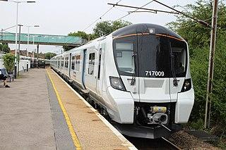 British Rail Class 717 British EMU Rail Class