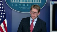 File:8-8-13- White House Press Briefing.webm