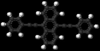 9,10-Bis(phenylethynyl)anthracene chemical compound