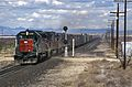 9006 West at Cochise AZ. This is probably a westbound Blue Streak. (3698893078).jpg